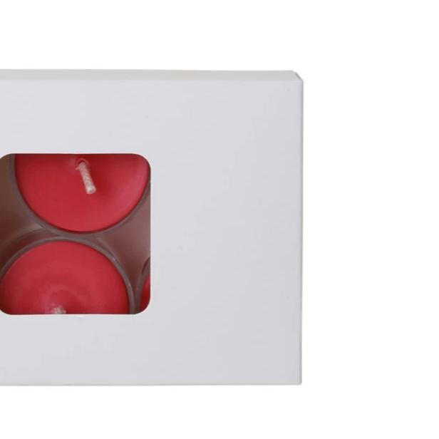Soy Tealights - 6 Pack, Raspberry Vanilla