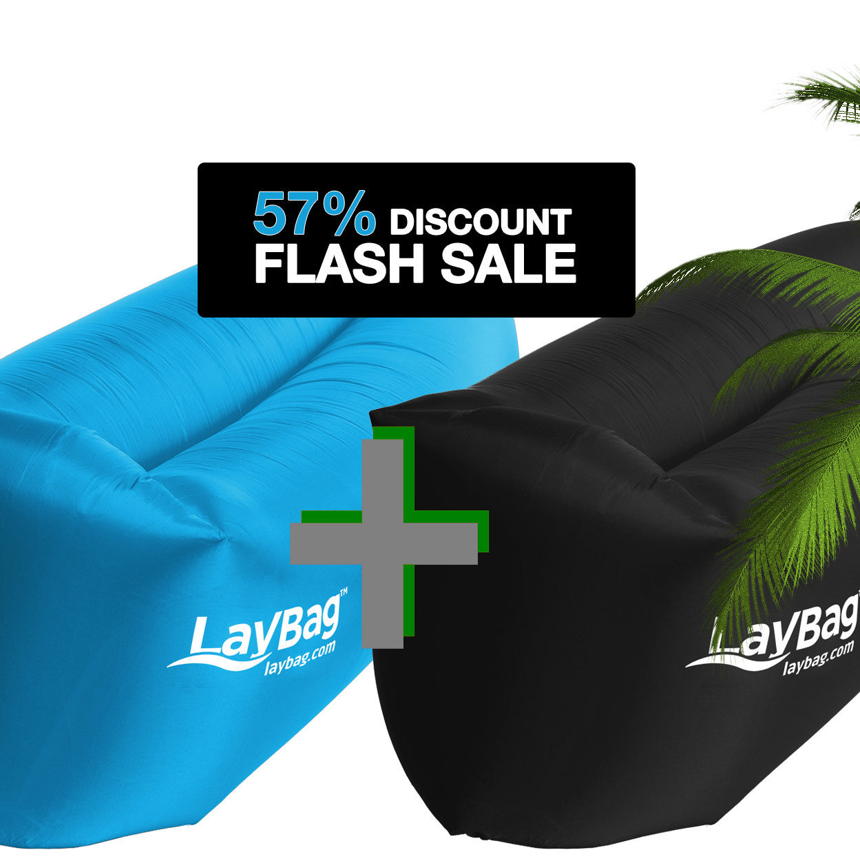 LayBag™ Bundle - Blue & Black