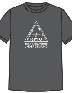 Triangle Logo T - Grey