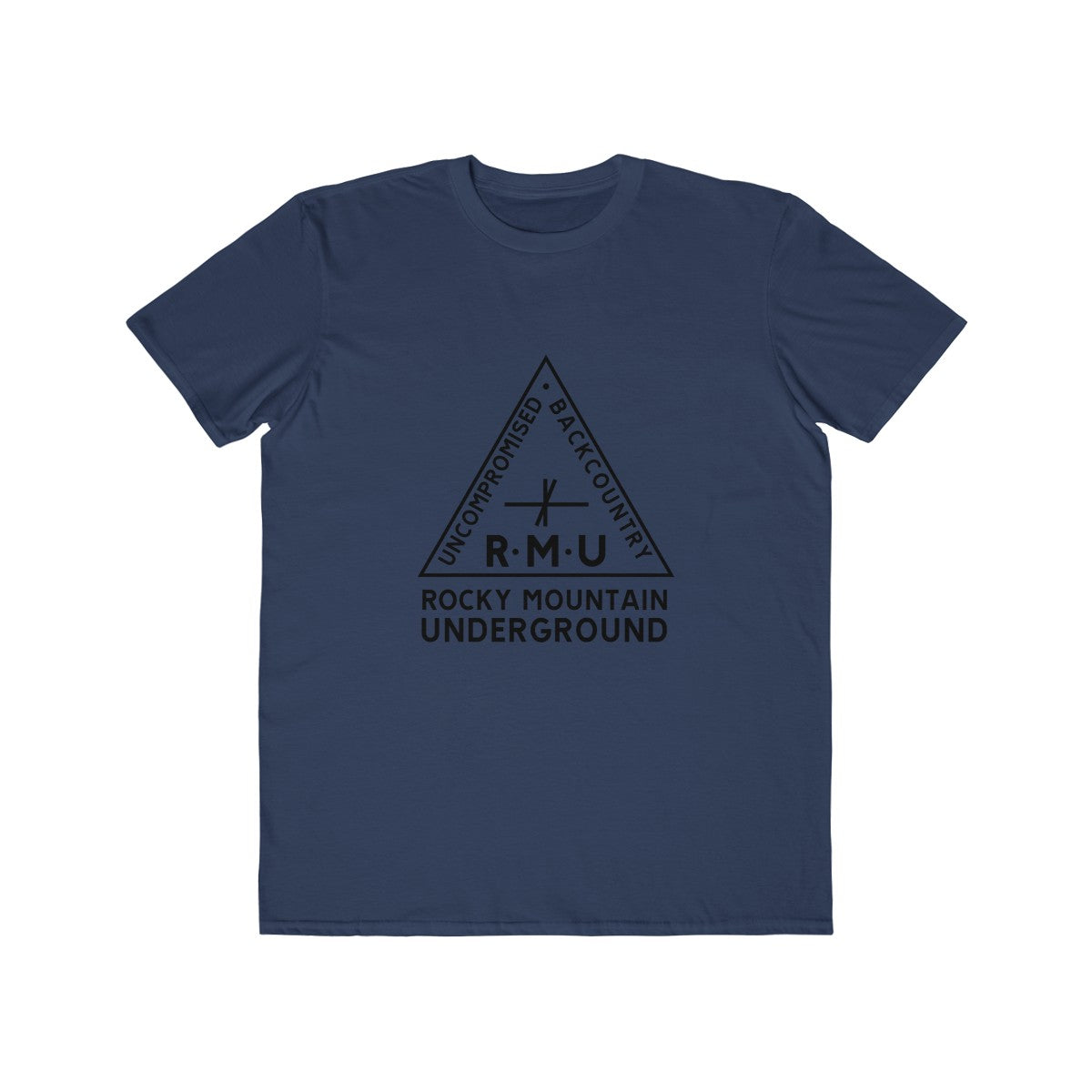 RMU Men's Lightweight Triangle Logo Tee