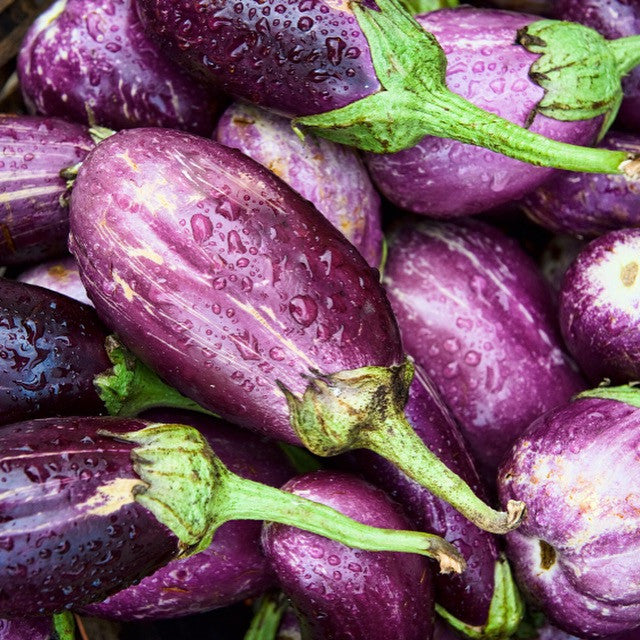 Brinjal / Eggplant - Small Purple (per 250 g)