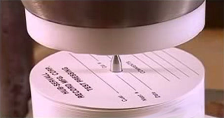 Vinyl Process Record Labels