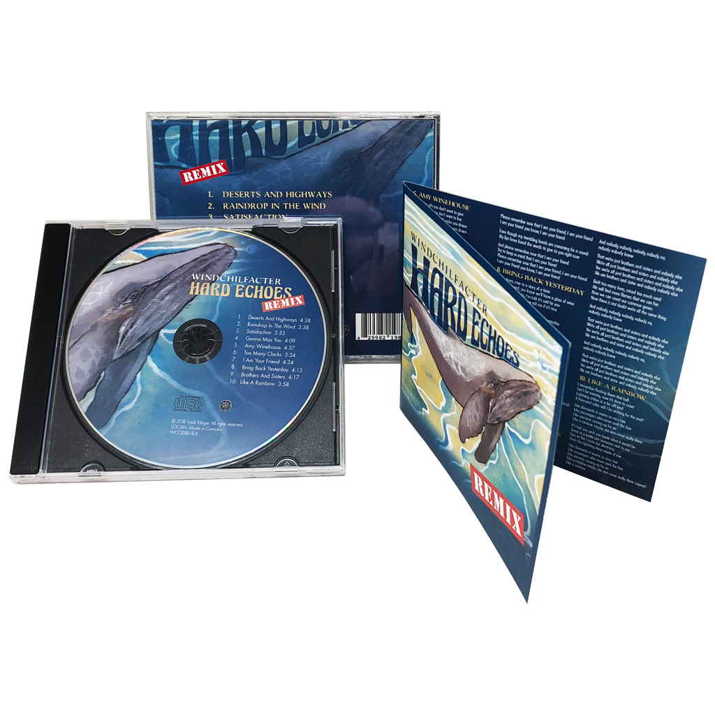 Cd Duplication Cd Replication Cd Jewel Cases With 2 Panel Inserts Train Records