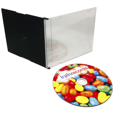 DVD Duplication in Slim Jewel Cases