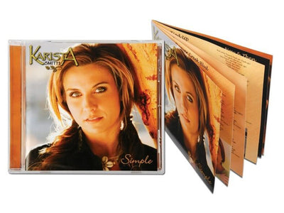Retail Ready CDs with 8 Page Booklet
