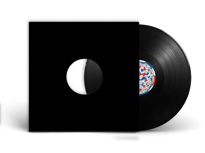 "12"" Vinyl Records in Black or White Jackets"