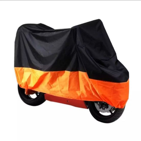 R66 2242 Bike Cover Black/Orange Size XXL