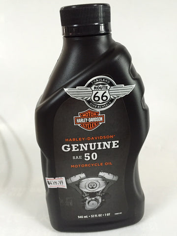 SKU 62600024  Harley Oil SAE 50