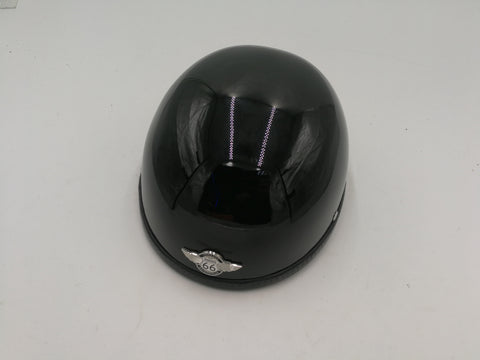 R66 2190 BICYCLE HELMET SHINY BLACK FREE SIZE