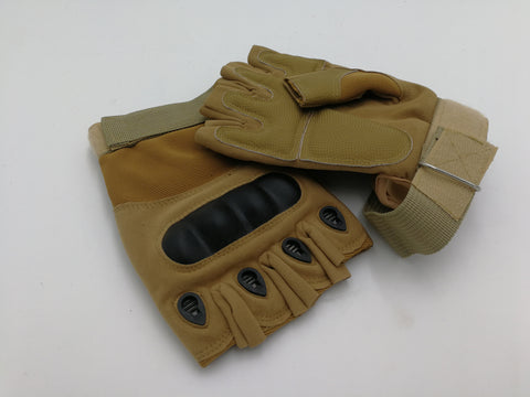 R66 2203 R66 TACTICAL FINGERLESS GLOVE BROWN SIZE XL