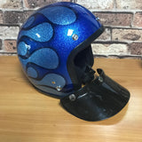 SKU R66 1652 R66 Open face Half Helmet Blue