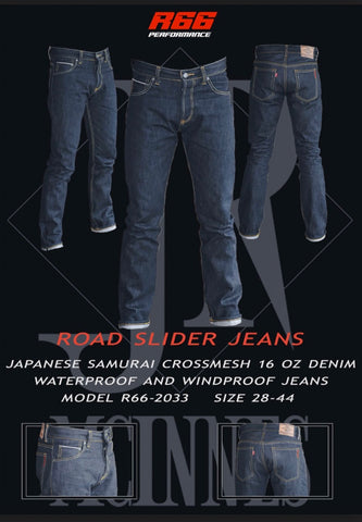 Route 66 Road slider jeans