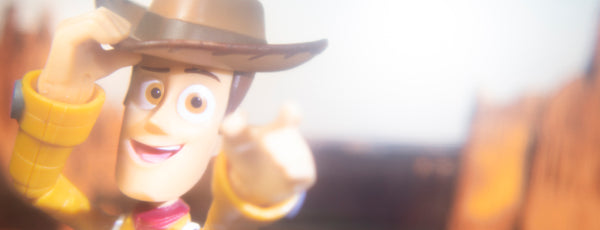You're my favourite deputy. Toy photography by Tom Milton