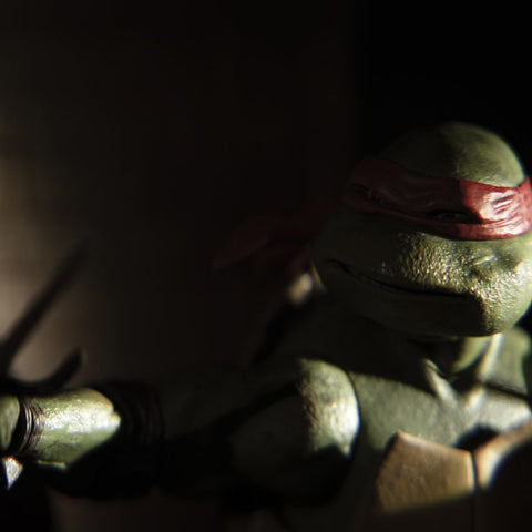 Gnarly. Toy photography by Tom Milton