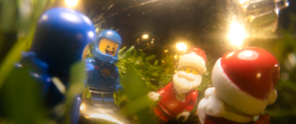 Ghosts of Christmas yet to come. Lego photography by Tom Milton