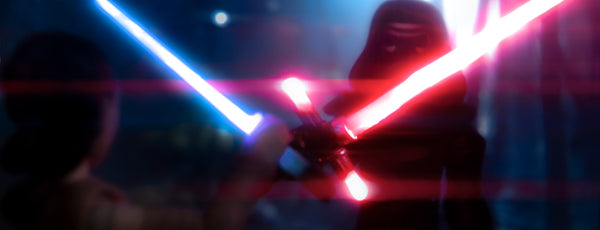 That lightsaber. It belongs to me! Toy photography by Tom Milton