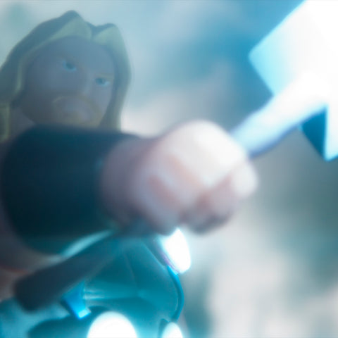 By the hammer of... Toy photography by Tom Milton