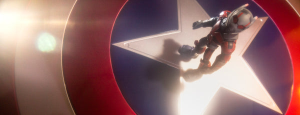 Ready when you are Cap! Toy photography by Tom Milton