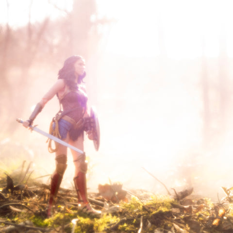 It is a land of magic and wonder. Toy photography by Tom Milton