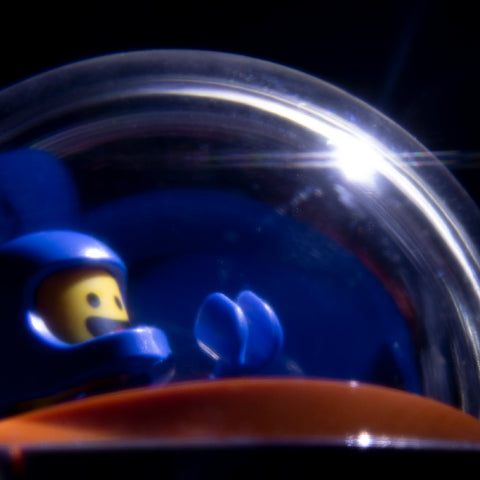 """Contact light"" Lego photography by Tom Milton"