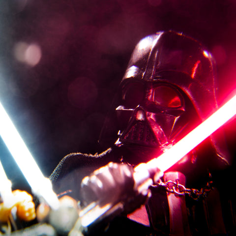 I am NO Jedi! Toy photography by Tom Milton