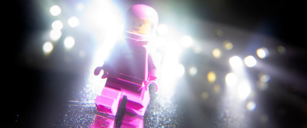 If time travel is possible, where are the tourists from the future? Lego photography by Tom Milton