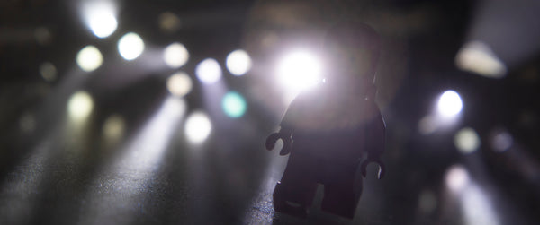 Do not go gentle into that good night. Lego photography by Tom Milton