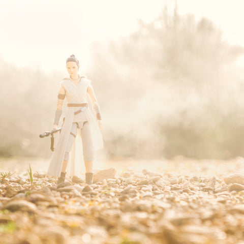 Alone, never have you been. Toy photography by Tom Milton