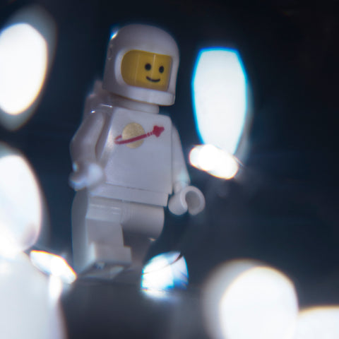 Interplanetary matter. Lego photography by Tom Milton