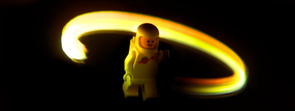 Spectral class. Lego photography by Tom Milton