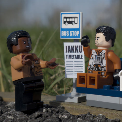 Why does everyone want to go back to Jakku? Lego Photography by Tom Milton