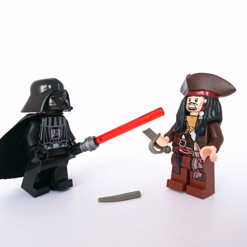 Apology accepted, Captain Sparrow. Lego Photography