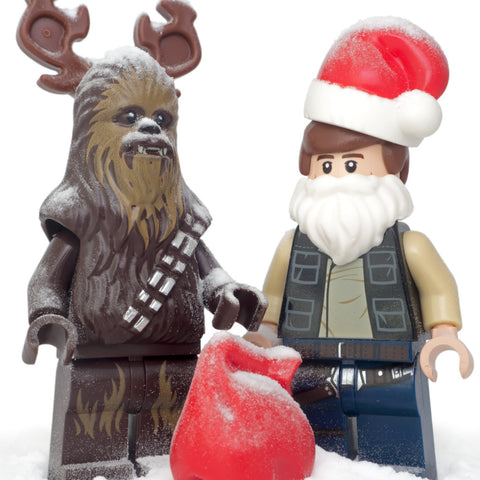 C'mon Chewie, it's just a few reindeer games. Lego Photography