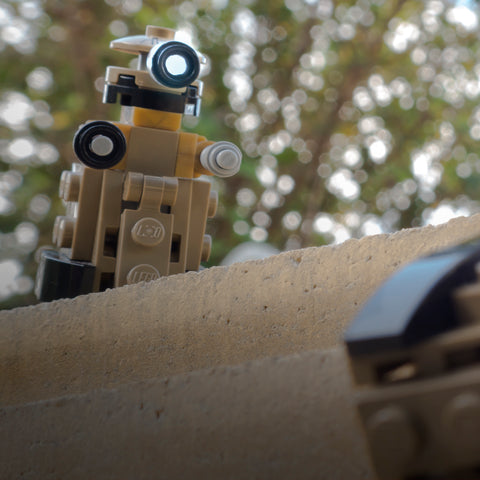 I said you wouldn't make it. Lego photography by Tom Milton