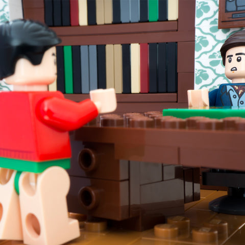 Dick! We're inside now, put on some pants. Lego Photography by Tom Milton