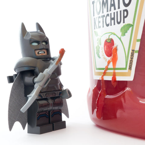 Do you bleed... Oh! Lego Photography by Tom Milton
