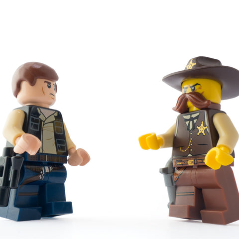 Don't try it sheriff, you can't believe what you hear about that Greedo guy. Lego Photography