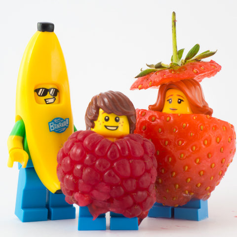 Family Portrait, Lego photography by Tom Milton