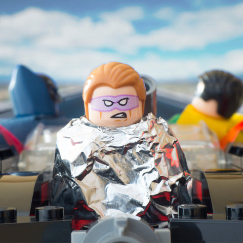 Curses, foiled again! Lego Photography by Tom Milton