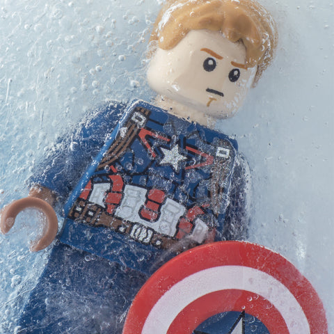 You've been asleep, Cap. For almost 70 years (version 2). Lego Photography
