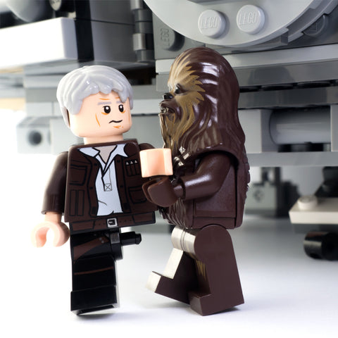 Chewie, I thought she loved me. Lego Photography