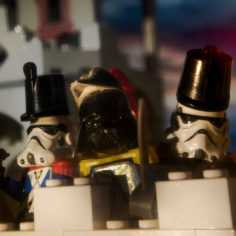 Imperial troops have entered the base. Lego photography by Tom Milton