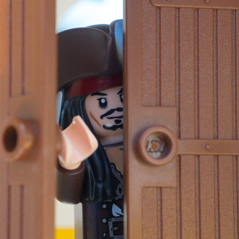 Avast, avast, who's there? Lego Photography