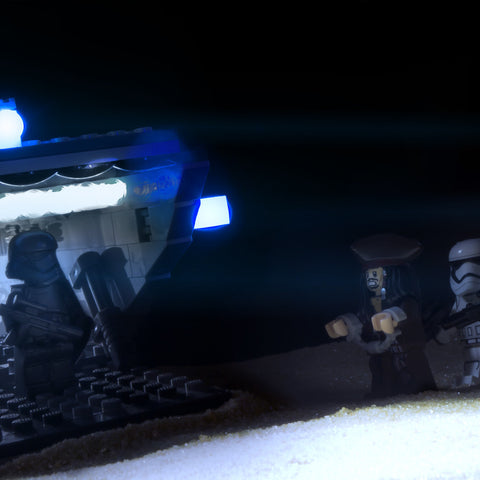 Yes, but this ship already has a captain, so there's really... Lego photography by Tom Milton