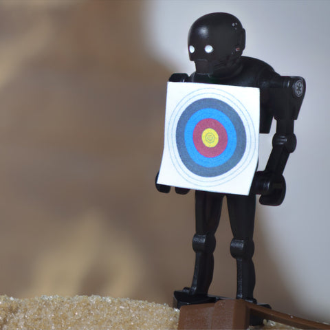 Maybe we should leave target practice behind. Lego Photography by Tom Milton