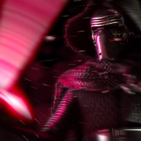 Show me again, the power of the darkness. Toy Photography by Tom Milton
