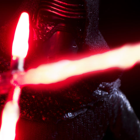 I'll show you the Dark Side. Toy Photography by Tom Milton