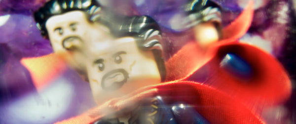 You are now inside the Mirror Dimension. Lego photography by Tom Milton