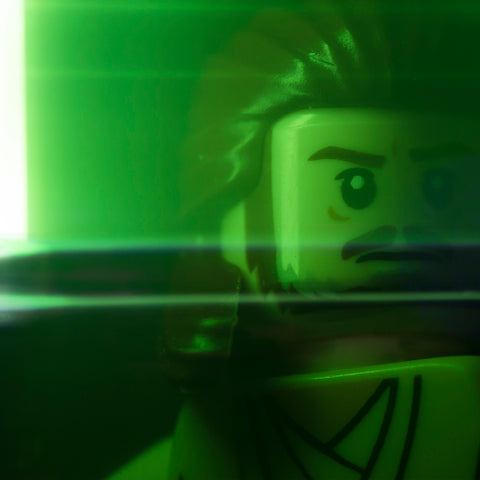 ...some kind of Jedi. Lego photography by Tom Milton