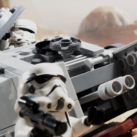 Hey TD-327 it wasn't the target you were looking for, but you finally hit something. Lego photography by Tom Milton